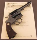 Colt New Service Revolver with Lanyard Swivel Commercial 1930s - 1 of 12