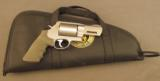 Smith and Wesson 460XVR Performance Center Revolver 3.5
