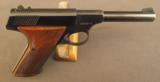 Colt Huntsman 22 Pistol First Year 95% +