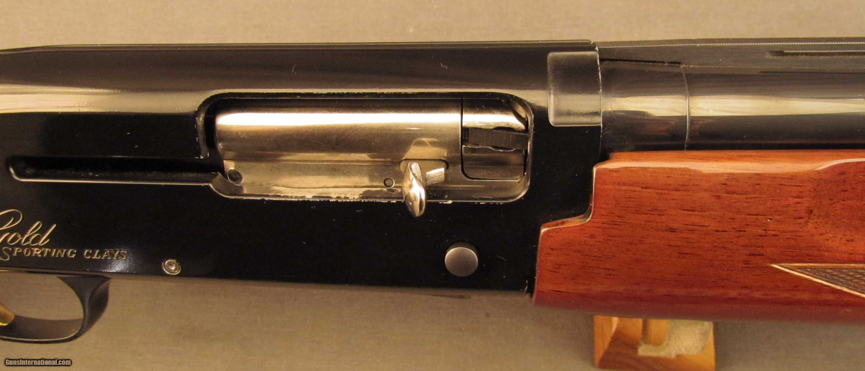 Browning Gold Shotgun Sporting Clays Semi-Auto 12 Gauge