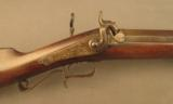 Civil War New England Target Rifle Made in Bangor Maine