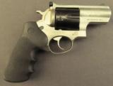 Special Order Ruger Super Redhawk Alaskan Two-Tone Revolver