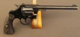 Colt Police Positive Target 1st Model DA Revolver 22 WRF