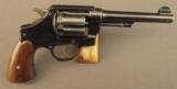 Smith and Wesson 1917 Army Revolver Fine Condition