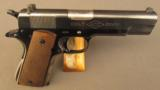 Colt Ace First Year Pistol 1911 22LR SN 2100