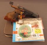 Unique Model DES-69 Standard Match Pistol