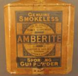 Vintage English Amberite Powder Tin - 3 of 25