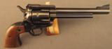 Ruger Old Model Blackhawk .357 Magnum Unconverted