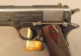 WW1 Springfield Armory U.S. Model 1911 Pistol - 6 of 12