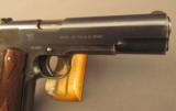 WW1 Springfield Armory U.S. Model 1911 Pistol - 3 of 12