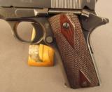 WW1 Springfield Armory U.S. Model 1911 Pistol - 5 of 12