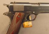 WW1 Springfield Armory U.S. Model 1911 Pistol - 2 of 12