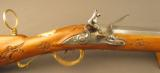 Exquisite 18th Century Gold Embellished German Flintlock Hunting Rifle - 2 of 12
