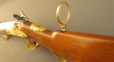 Exquisite 18th Century Gold Embellished German Flintlock Hunting Rifle - 12 of 12