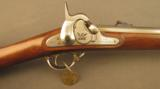 Springfield Cadet Musket 1858 from the Roebling Collection 2501 Built