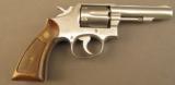 S&W Model 64-1 Revolver 38 Special