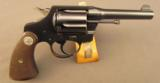 Colt Police Positive Special 2nd Issue Revolver