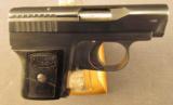 Mauser WTP Pistol 25 Auto 1st Model