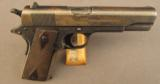 WW1 Colt 1911 Pistol 45 Auto(Black Army)