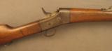 Nicaraguan Remington Rolling Block Rifle M1902