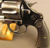 Colt Police Positive 1st Issue Revolver 38 New Police - 5 of 12