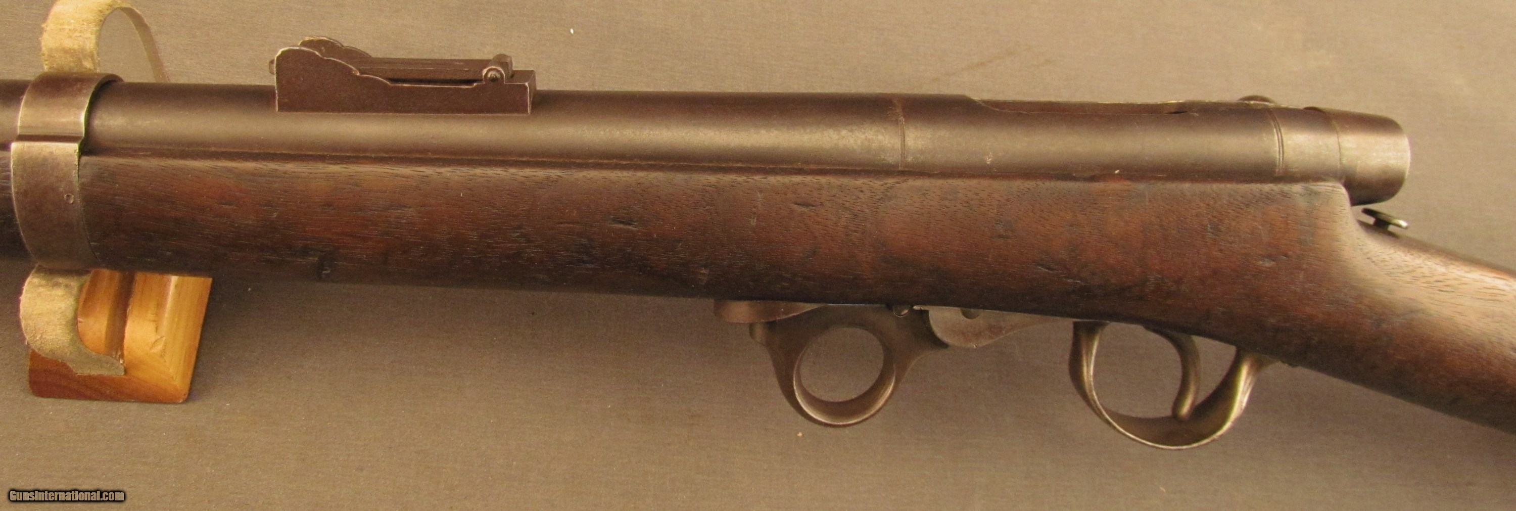 breech civil essay loading rifle war Many of the weapons used in the american civil war were of  into front line  service, such as the 1848 sharps breech-loading rifle, firing a 52.