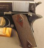 Colt Commercial Model 1911 Pistol 45 Auto Built 1917 - 6 of 17