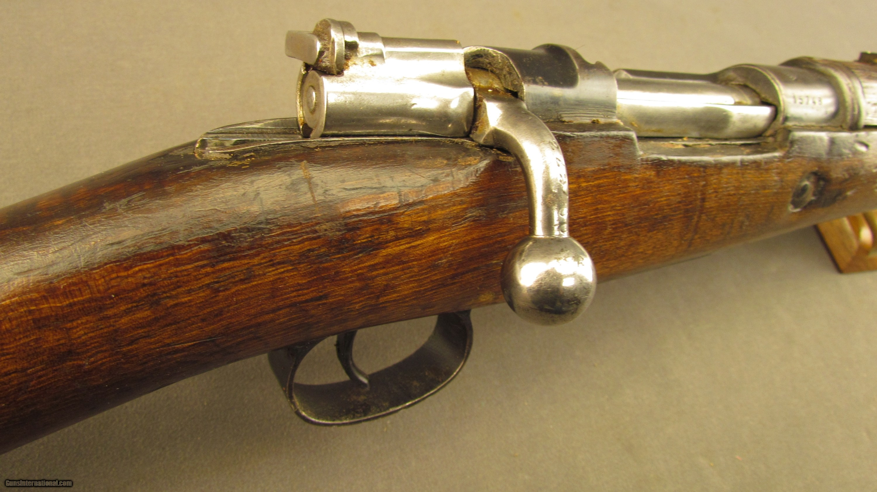 Spanish Model 1916 Short Rifle with Civil Guard Markings