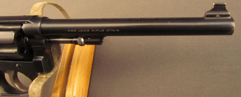 S&W 22/32 Heavy Frame Target Revolver