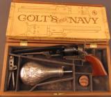 Colt 2nd Generation Model 1851 Navy (C-Series, Cased)