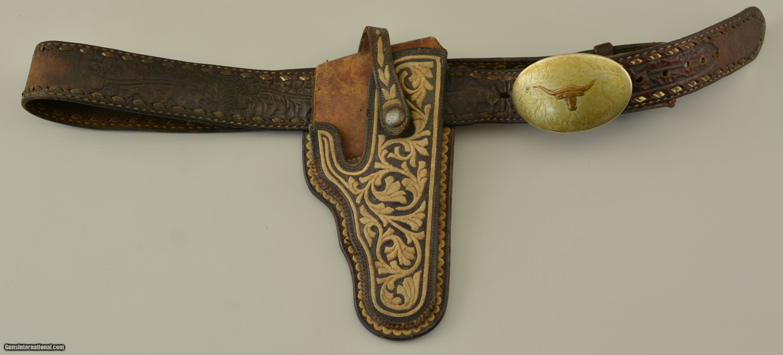 Mexican American Western Cowboy Holster & Belt Rig