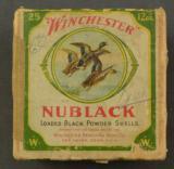 Winchester Black Powder Full Box Original Cartridges