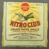 Rem/UMC Nitro Club 12 ga, Mallard Box