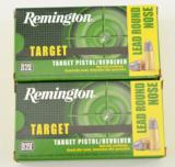 100 Rounds. 38 S&W Target Cartridge