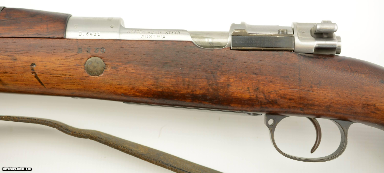 Chilean Model 1912 Rifle by Steyr
