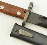 Yugoslavian M1948 Mauser rifle Bayonet - 2 of 6