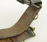 Canadian WW1 Snake Buckle Belt - 5 of 5