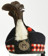 WW1 17th CEF Seaforth Highlanders of Canada Glengarry