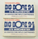 375 Winchester Big Bore 94 Ammunition 40 Rnds