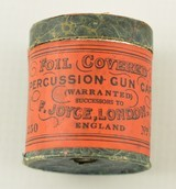 Joyce Percussion Cap Tin 1907-1910