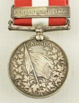 Canadian Fenian Raid Medal 1866