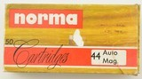 Norma 44 Auto Mag (AMP) Ammo
