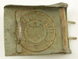 WW2 German Army Belt and Buckle - 9 of 10