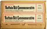 Winchester Buffalo Bill Commemorative Rifle and Carbine Set (Factory S