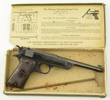 Reising .22 Target Pistol with Box & Cleaning rod