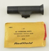 Redfield Target Globe Front Sight with ISU Inserts