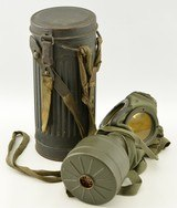 WW2 German M.30 Gas Mask