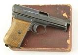 Mauser Model 1914 Pocket Pistol