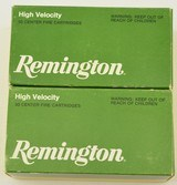 Two Boxes Rem 30 Carbine Ammo
