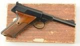 Colt Woodsman Pistol with Box 1960